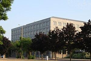 Deutsch: Gebäude der Bundesbank auf dem alten ...