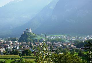 Burg Gutenberg - Balzers- Liechtenstein - St9191/Wikipedia