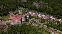 File:Burg Hardegg Austria by Drone.webm