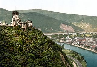 Lahnstein Place in Rhineland-Palatinate, Germany