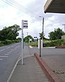 Bus stop, Exeter Road near Shutterton Bridge, North Dawlish - geograph.org.uk - 1408526.jpg