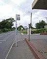 Bus stop, Exeter Road near Shutterton Bridge, North Dawlish - geograph.org.uk - 1408526.jpg