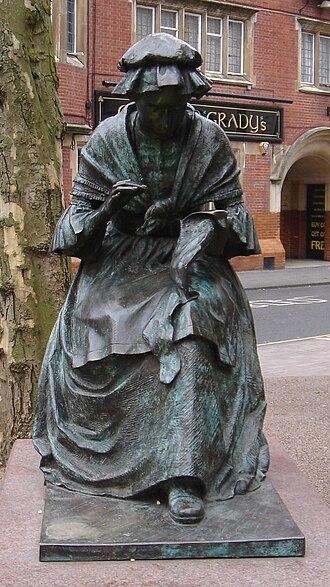 James Butler (artist) - Image: Butler Leicester Seamstress front