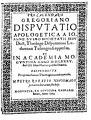 Buys, Jan – Pro calendario Gregoriano disputatio apologetica, 1585 – BEIC 75530.jpg