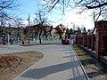 Bydgoszcz - ulica Powstańców Warszawy widoczne budynki dawnego okręgu wojskowego. - panoramio.jpg