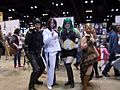 C2E2 (Day 2) 2014, Catwoman, Two-Face, Joker, and Bane 2.jpg