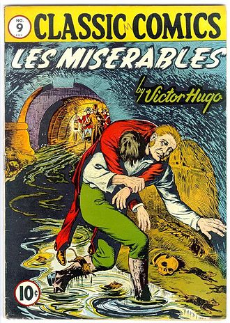 Classics Illustrated issue #9, March 1943 CC No 09 Les Miserables.JPG