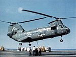 CH-46D HC-3 over USS Enterprise (CVAN-65) c1973.jpg