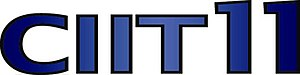 CIIT-DT - Logo used while as CIIT 11, used from July–August 2008.