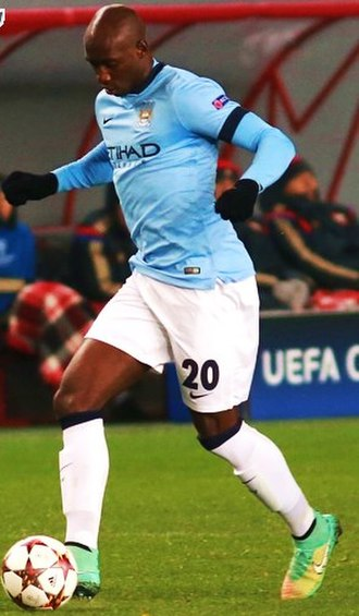 Eliaquim Mangala - Mangala playing for Manchester City in 2014