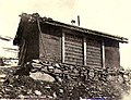 Cabin with window made of bottles, Yukon Territory, ca 1898 (MEED 40).jpg