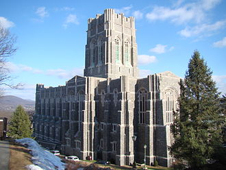 United States Military Academy grounds and facilities - Cadet Chapel