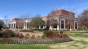 Hinds Community College - Cain Cochran Hall on the Raymond Campus of Hinds Community College
