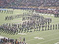 Cal Band performing pregame at 2008 Big Game 14.JPG