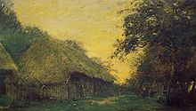 阿道夫·费利克斯·卡尔斯法国画家 Adolphe Félix Cals (fran?ais, 1810 - 1880) - 文铮 - 柳州文铮