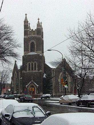 Calvary United Methodist Church (Philadelphia) - Image: Calvary UMC Philly