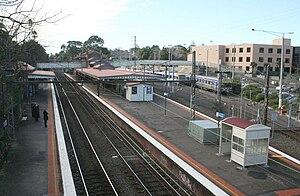 Camberwell, Victoria - Camberwell Railway Station