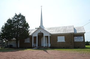 National Register of Historic Places listings in Latimer County, Oklahoma - Image: Cambria School