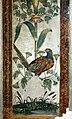 Camillo mantovano, resti di affreschi della sala di psiche con candelabre vegetali che sorreggono cacciagione e pesci, 1538-39 ca. 05 fagiano.jpg