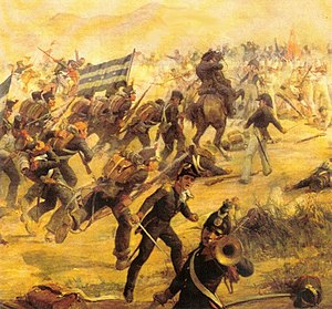 Ecuadorian War of Independence - The Battle of Camino Real, November 9, 1820