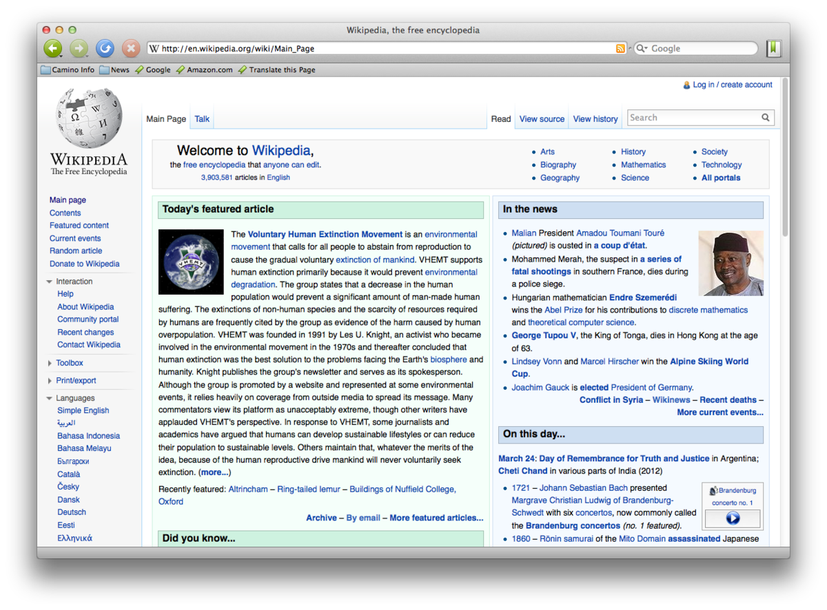 Camino (web browser) - Wikipedia