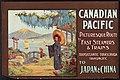 Canadien Pacifique – Chemin pittoresque à bord des trains et des navires à vapeur rapides en direction du Japon et de la Chine.jpg