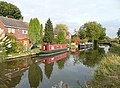 Canal-side housing at Shardlow, Derbyshire - geograph.org.uk - 1555048.jpg