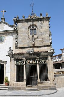 Capela dos Coimbras Church in Norte, Portugal
