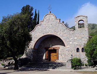 Los Cocos - Santa Teresita chapel