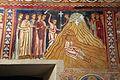 Cappella di san silvestro, affreschi del 1246, storie di costantino 09 elena trova la vera croce in terrasanta 1.jpg