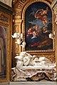 Cappella palluzzi-albertoni di giacomo mola (1622-25), con beata ludovica alberoni di bernini (1671-75) e pala del baciccio (s. anna e la vergine) 03.jpg