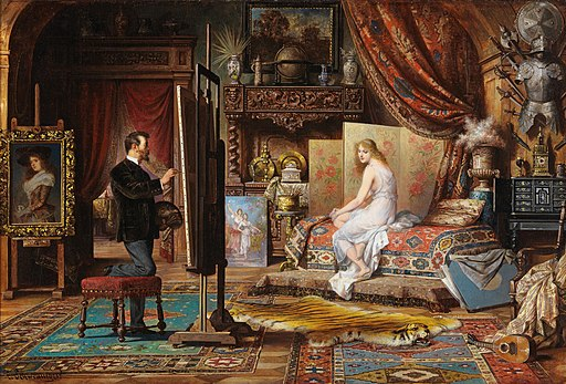 Carl Schweninger the Younger – The Artist and His Model