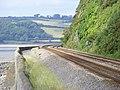 Carmarthen to Swansea Railway at St Ishmael - geograph.org.uk - 1700678.jpg