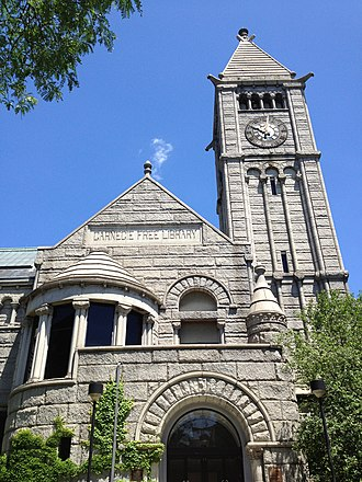 Carnegie Free Library of Allegheny - Image: Carnegie Library Allegheny