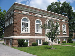 National Register of Historic Places listings in Sumter County, South Carolina - Image: Carnegie Public Library Sumter, SC