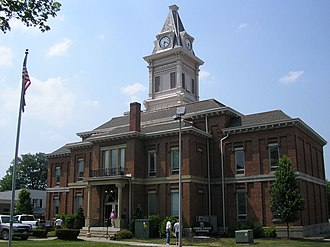 Carroll County, Kentucky - Image: Carroll county kentucky courthouse
