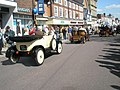 Cars parading around The Square - geograph.org.uk - 1251417.jpg