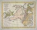 Carte générale des découvertes de l'Amiral de Fonte representant la grande probabilité d'un passage au nord oust (13407299953).jpg