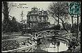 Carte postale - Asnières-sur-Seine - Château Pouget - Un coin du Parc.jpg