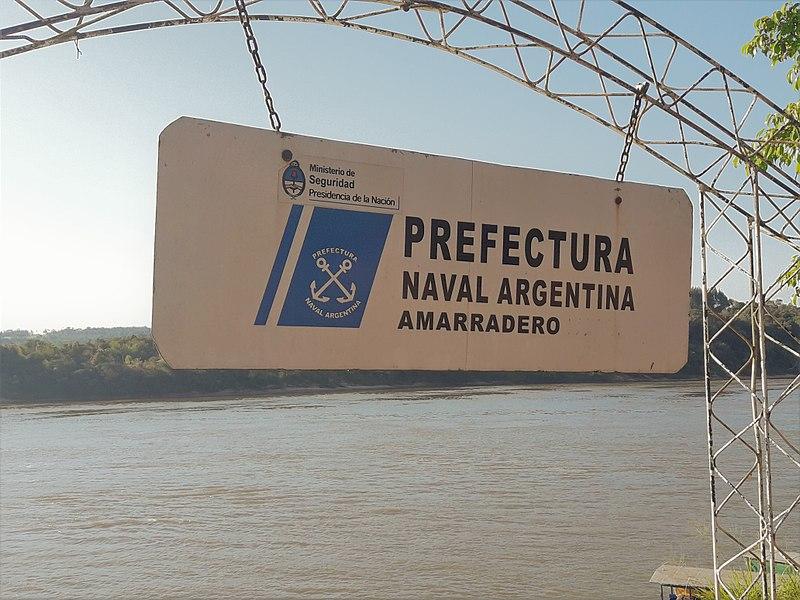 File:Cartel Puerto Rico (Provincia de Misiones, Argentina) - Prefectura Naval Argentina - Prefectura Puerto Rico (05).jpg