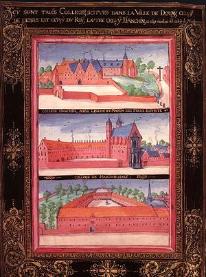 Douay–Rheims Bible - Colleges at University of Douai