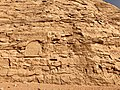 Carved Stone Cliffs, The Great Temple of Ramses II, Abu Simbel, AG, EGY (48017130441).jpg