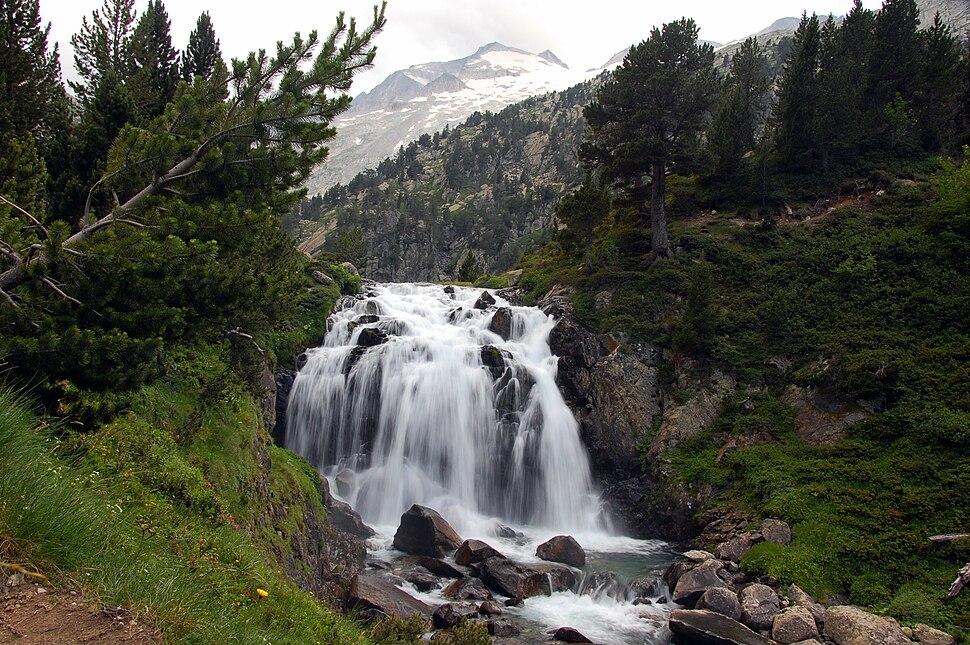 Cascada aigualluts