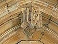 Castelnaud-la-Chapelle Milandes église portail sud-est détail.jpg