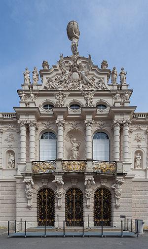 Linderhof Palace - Facade