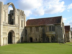 Castle Acre Priory - The West Front and Prior's Lodging