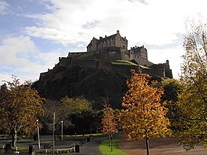 English: Castle of Edinburgh