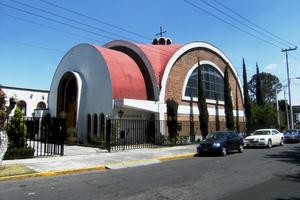 Greek Mexicans - The Catedral Ortodoxa Griega de Santa Sofia in Naucalpan.