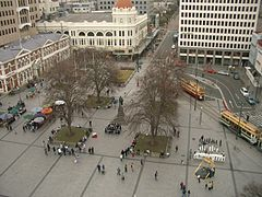 Cathedral Square from ChristChurch Cathedral.jpg