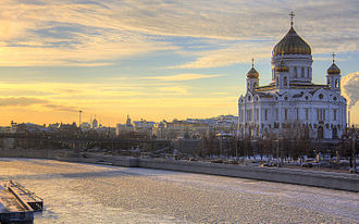 Christianity in Europe - Cathedral of Christ the Saviour in Moscow